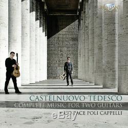 Musique Complète Pour Deux Guitares 2 Disc Set Castelnuovo-tedesco / Duo (cd Nouveau)