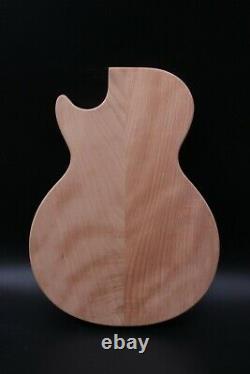 New Guitar Body Semi-hollow Ahogany Maple Cap Diy Guitar Replacement Set In