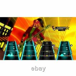 New Nintendo Wii Wii-u Band Hero Super Bundle Kit Jeu Set Batterie Guitare Sans Fil