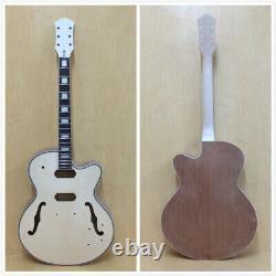 No-soldering Hollow Body Es-350 Style Electric Guitar Diy Kit, Set Neck, 273madiy