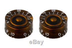 Nouveau Chocolate Speed boutons De Commande Pour Guitare Ensemble De 2 Pk-0130-036
