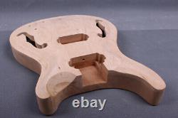 Nouveau Corps De Guitare Ahogany Maple Semi Hollow Guitar Body Diy Guitar Set In