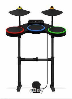 Nouveau Ps3 Guitar Hero World Tour Sans Fil Drums Kit Drum Set Playstation 3