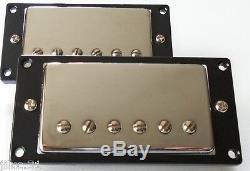 Nouveau Set Humbuckers Bh-20 Belcat Alnico V Chrome Pour Toutes Les Guitares