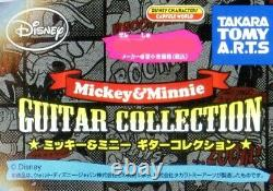 Nouveau Takara Tomy Arts Disney Guitar Collection Porte-clés Ensemble Entier De 6 Guitares