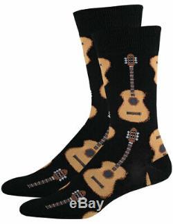 Nouveau (set) Guitares Et Chaussettes Tambour Membres De La Bande Cadeau Parfait Taille Unique