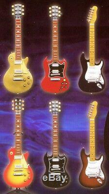 Nouveaux Souvenirs De Guitare Konno Ver. 2 Mini Figurines Ensemble Complet De 6 Guitares