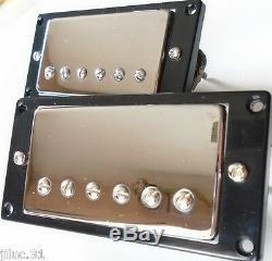 Nouvel Ensemble Belcat Bh-20 Humbuckers Alnico V Chrome Pour Toutes Les Guitares