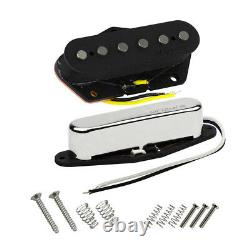 Oripure Alnico 5 Fd Tele Guitar Pickups Single Coil Neck + Bridge Pickup Set