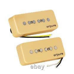 Oripure Soap Bar P90 Pickup Set Alnico 5 Neck + Bridge Pickups Pour Guitare Sg Lp