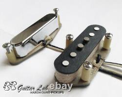Pickups Telecaster Fit Fender Ensemble Alnico 5/2 Personnes Personnes Personnes Bb Guitar Lab