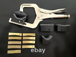 Presse Fret Portable Avec Cauls & Insert De Support 4 Cous Pour Guitar Maker