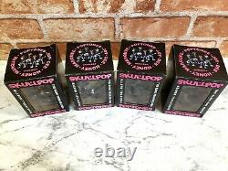 Ramones Figure Skullpop Poptones Guitare, Basse, Chanteur, Batterie Complète 4set Nouveau