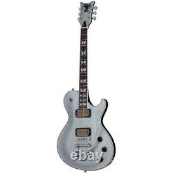 Schecter Solo-6b Vintage Electric Guitar, Rosewood Fretboard, Silver Sparkle