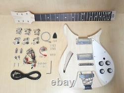 Semi-hollow Body, No-soudure Guitare Électrique Diy Kit, Set-cou. Gk Crss 1910