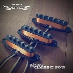 Set De Ramassage Strat Pour Strat Guitar Handwound Alnico5 Classic 50's