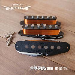 Set De Ramassage Strat Pour Strat Guitar Handwound Alnico5 Vintage'59