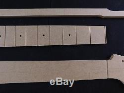 Set Guitare Modèle Stratocaster Cnc Fait Des Modèles Précis À 100%