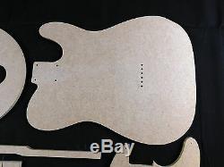 Set Guitare Modèle Telecaster Cnc Fait Des Modèles Précis À 100%