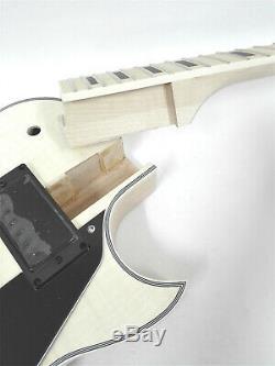Set Neck Guitare Électrique Diy Kit, Semi-corps Creux, Non-soudure E-239 Diy Smb