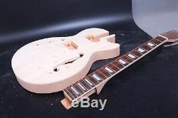 Set Trou Acajou F Corps Guitare + Cou Diy Électrique Projet Guitare