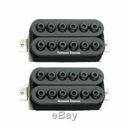 Seymour Duncan 11108-31-b Invader Humbucker Guitar Set Noir Ramassage