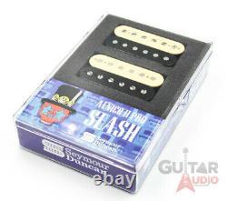 Seymour Duncan Alnico II Pro Slash Signature Zebra Guitar Pickups Set Paire