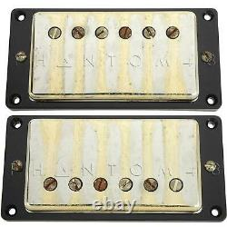 Seymour Duncan Antiquity Humbucker Set Aged Gold Cover Guitar Pickup Nouveau
