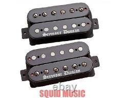 Seymour Duncan Black Winter 6 String Humbucker Guitar Pickup Set In Black