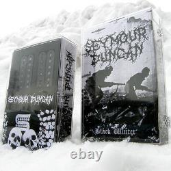 Seymour Duncan Black Winter Humbucker Set Black Guitar Trembucker Spaced Bridge