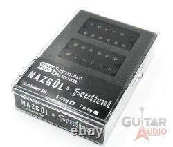 Seymour Duncan Nazgûl & Sentient 6 Cordes Humbucker Micros Guitare Set Noir