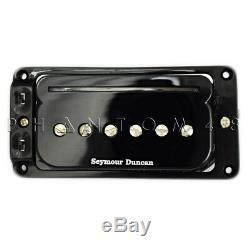 Seymour Duncan P-rails Flat Triple Set Guitare Micros Tir Noir
