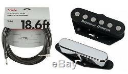 Seymour Duncan Pound Guitar Quarter Tele Telecaster Ramassage Set (aile 18ft)