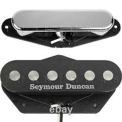 Seymour Duncan Quarter Pound Tele Neck/bridge Telecaster Guitar Pickup Set Nouveau