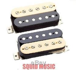 Seymour Duncan Sh-vintage Blues 1b + Sh-1n'59 Zebra Humbucker Guitar Set De Ramassage