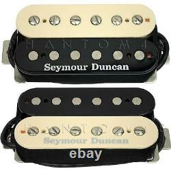 Seymour Duncan Shpg-1n & 1b Pearly Gates Guitar Humbucker Pickup Set Zebra Nouveau