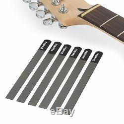 Stewmac Nut Slotting Fichiers Pour Guitare Électrique Jeu De 6 Pour Cordes Lumière