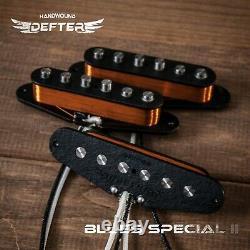 Strat Pickup Set Pour Strat Guitar Handwound Alnico2 Blues Spécial II