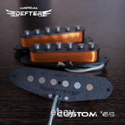 Strat Pickup Set Pour Stratocaster Guitar Handwound Alnico5 Clone Custom'69