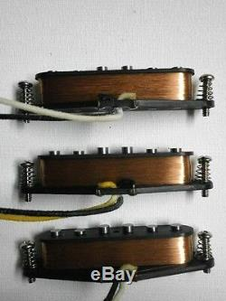 Stratocaster A3 Micros Set 50 Lefty Strat Handwound Gauchère Hendrix Guitare