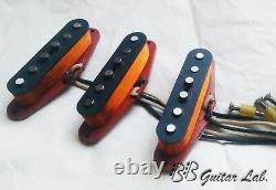 Stratocaster Pickups Pour Fender Set 6k Alnico2 Hand Wound Bb Guitar Lab