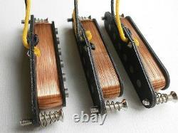 Stratocaster Set A4 Hot Pont 15kohm Sur Mesure Strat Micros Guitare Handwound Q