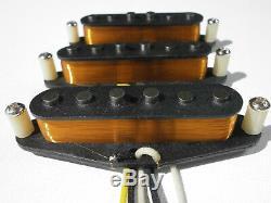 Stratocaster Vintage Correct 60s 50s Micros Set Handwound Strat Fender Guitar Q