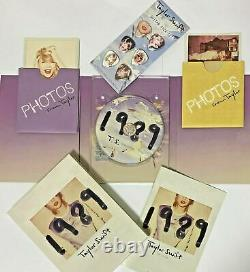 Taylor Swift 1989 Tour Edition Limitée CD Guitare Picks Photos Ensemble De Photos Du Japon Nouveau