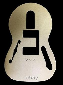 Telecaster 1972 Thinline / Guitare Modèle Set / Cnc A Fait Des Modèles Précis À 100%
