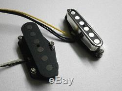 Telecaster Set A2 / 5 Pont Du Cou. 250 Handwound Fat Pound Quartier Micros Guitare