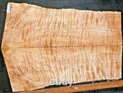 Tiger Cilted Maple Wood 10103 Luthier 5a Ensemble Haut De Guitare 22 X 16,5x. 375+