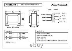 Transformateur D'ensemble Pour Amplificateurs De Guitare Tube Puissance De Remplacement Choke Soldano 100