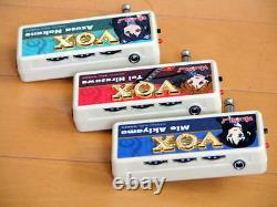 Tres Rare! Japon Limited Vox Amplug K-on! 3 Set Mio Yui Azusa Guitar Effects Amp