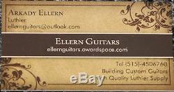 Un Set Old Grown Palissandre Dread Guitare Cotes Luthier Lutherie Retour